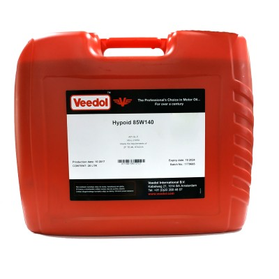 Масло Hypoid Gear Oil 85W-140 (20л.) [Veedol]