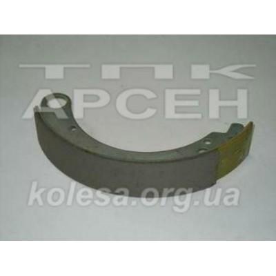 Колодка тормозная задняя /кроткая накладка/ (3110-3502091)