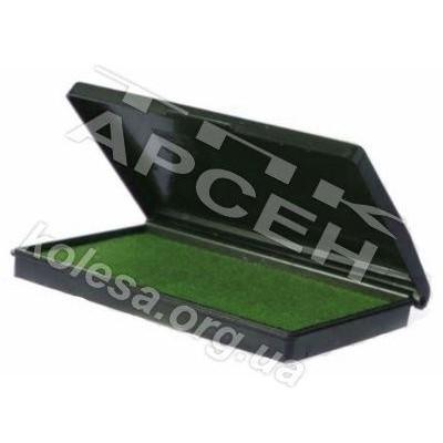 Подушка штемпельная зеленая
