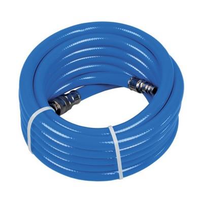 Шланг PU/PVC армированный 9,5х16мм. 10м. (81-351) [MIOL]