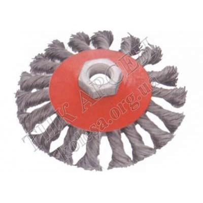 Щетка-диск для болгарки 100 мм.