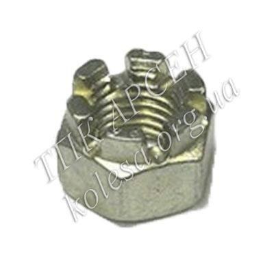 Гайка корончатая рулевая /пальцеобразная/ (250979-П29)