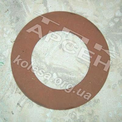 Накладка фрикционная муфты шнека жатки /195х115х4/ (00162Б)