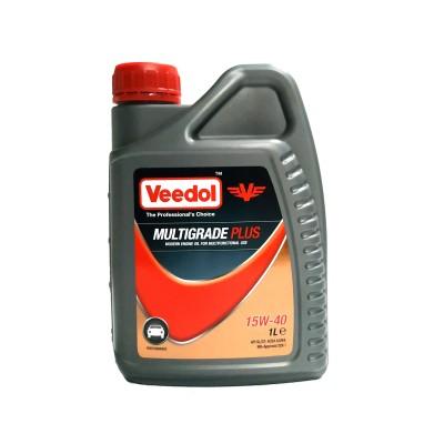 Масло Multigrade Plus 15W-40 (1л.) [Veedol]