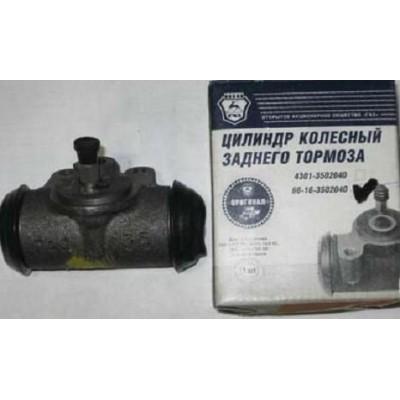 Цилиндр тормозов задний (66-16-3502040) [ГАЗ]