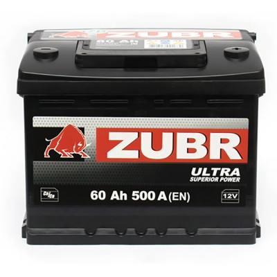 6СТ-60(1) ZUBR Ultra (500A) [ZUBR]