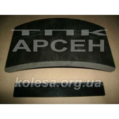 Тормозная накладка (Украина) (131-3501105-01)