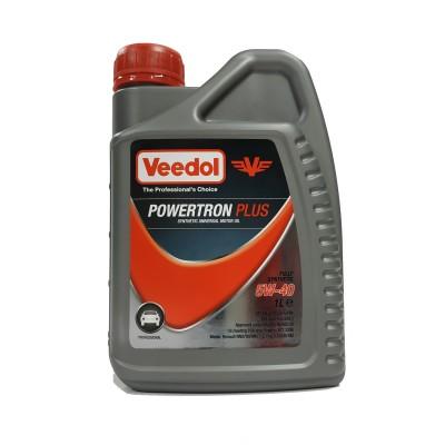 Масло Powertron Plus 5W-40 (1л.) [Veedol]