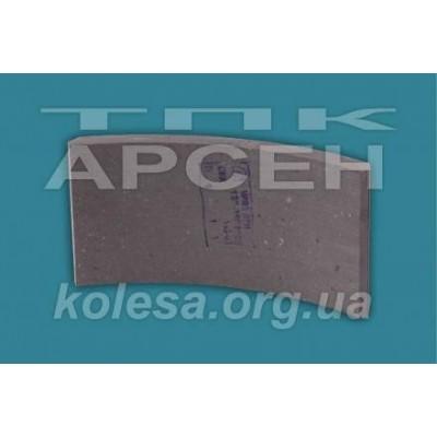 Тормозная накладка задняя (РФ) (130-3502105)