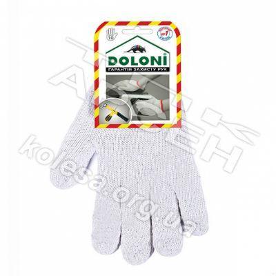 Перчатки без ПВХ белая