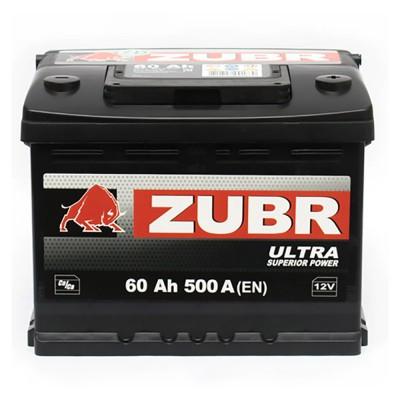 6СТ-60(0) ZUBR Ultra (500A) [ZUBR]