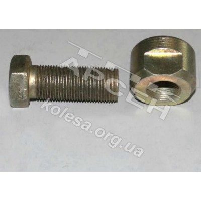 Болт ушки рессоры 5335-2902018 МАЗ (5335-2902018)