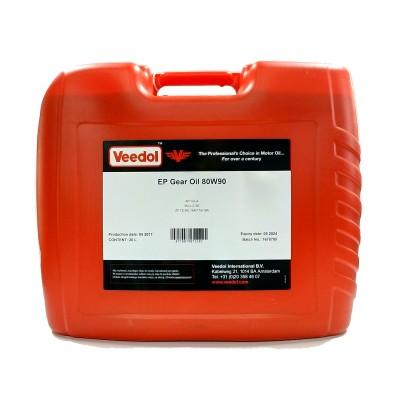 Масло GEAR OIL EP 80W-90 (20л.) [Veedol]